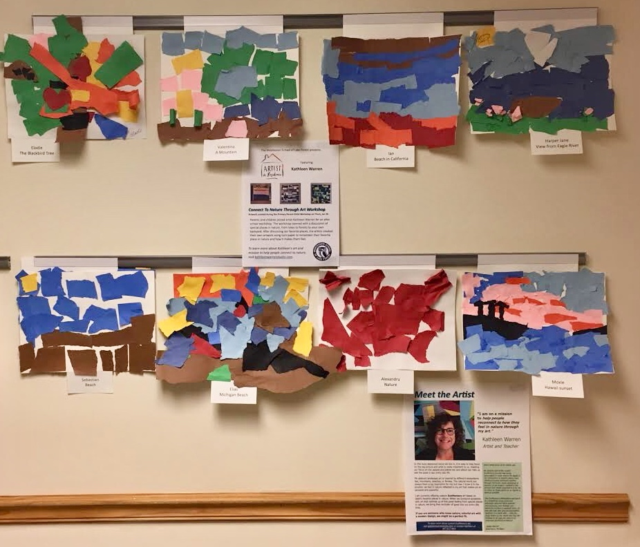 Gallery of Artwork from Primary Students attended the Workshop