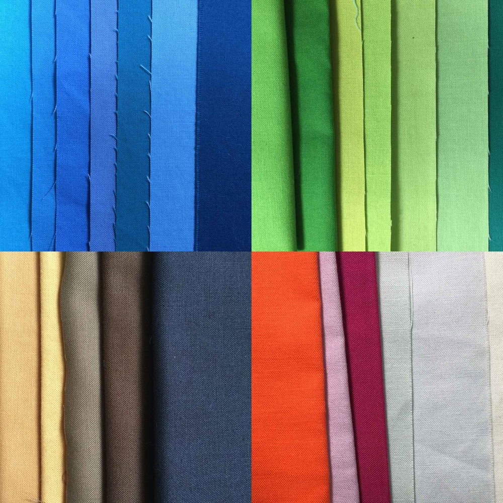 Fabric Color Palette for this EcoMemory