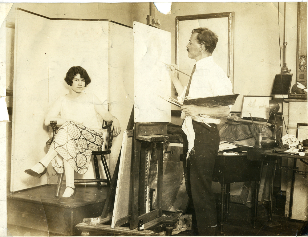 painting w- model  in studio.jpg