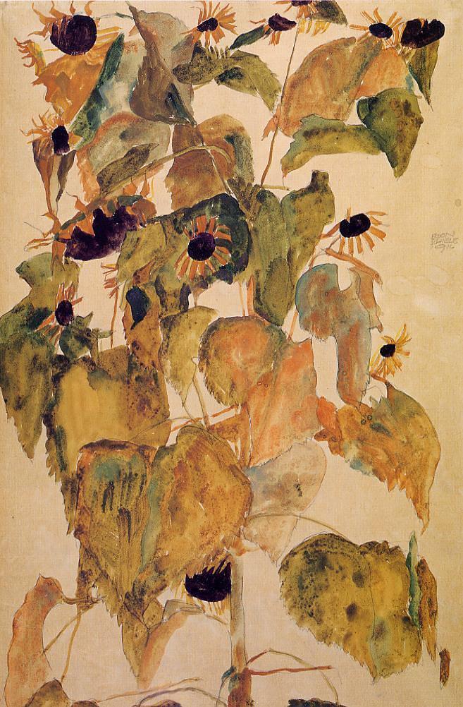 Sunflowers, 1911