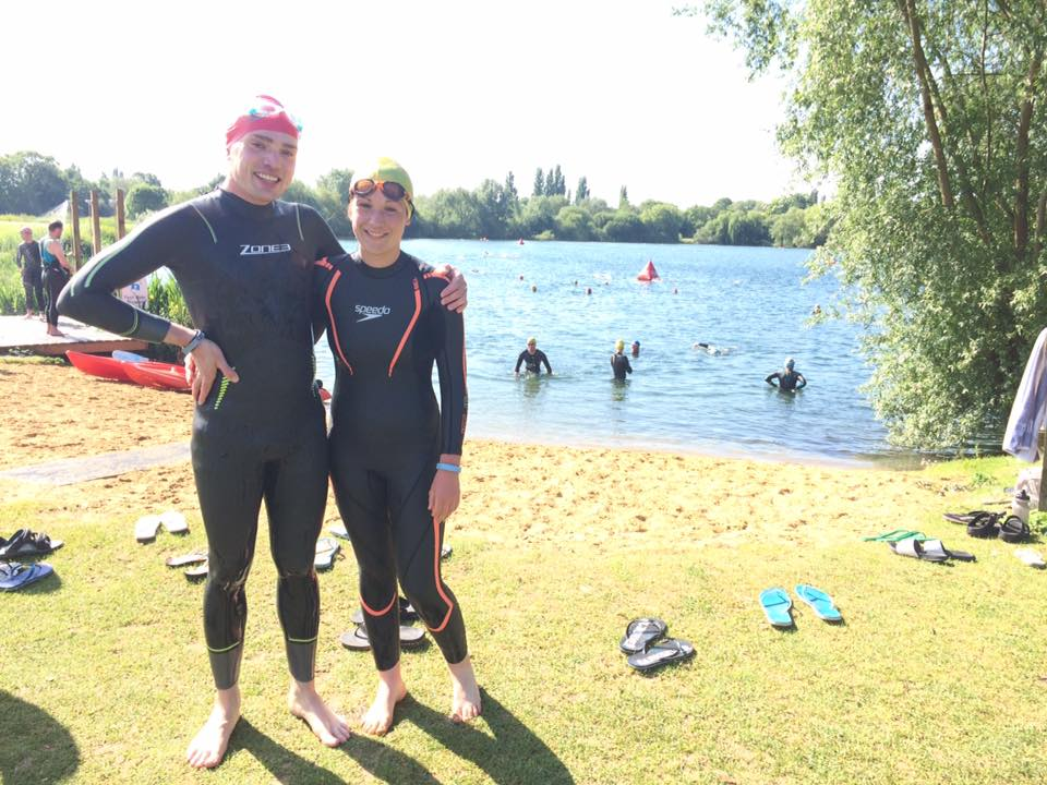 My first ever open water swim!