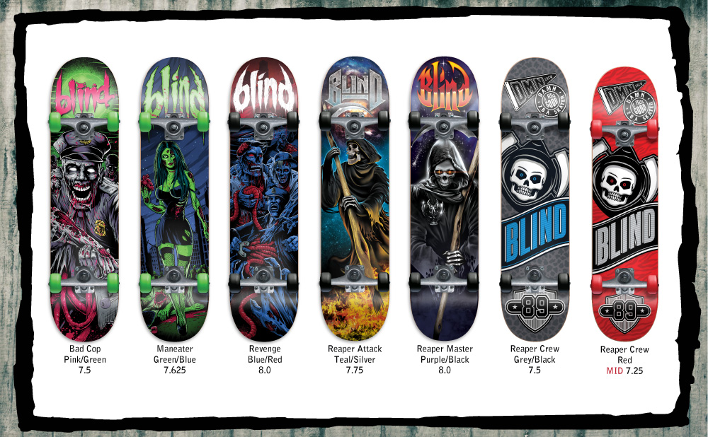 Blind Skateboards Holiday 2015 | Completes
