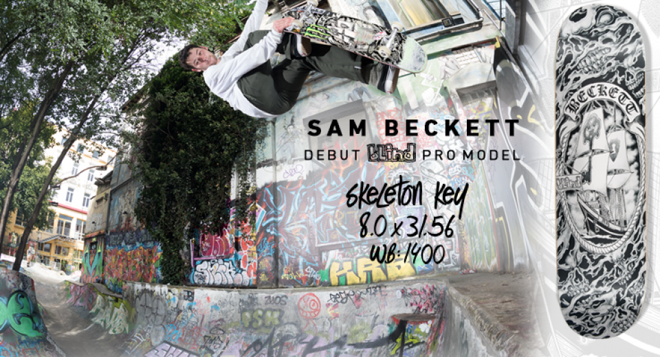 Blind Skateboards Pro Sam Beckett