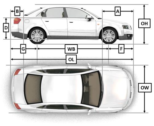 Vehicle Specifications — Virtual CRASH