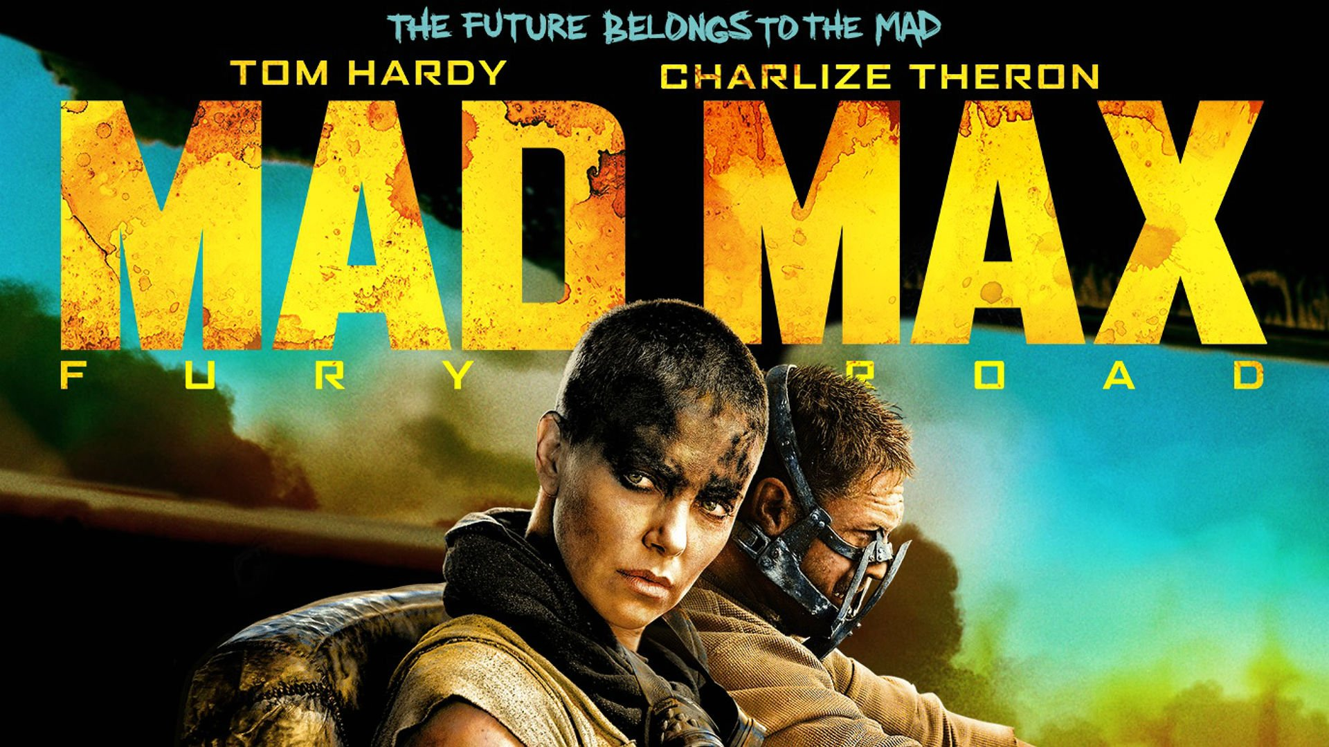Harry gets shiny  chromey for every cinematic second in millers vehicular valhalla: mad max fury r