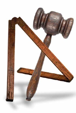 24 inch guage and common gavel