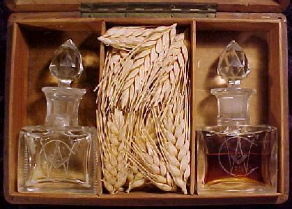 corn, wine and oil