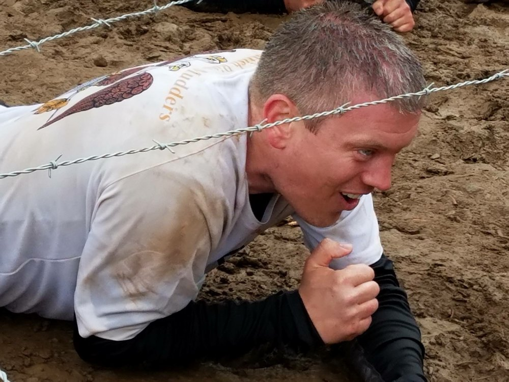 Here is Ryan leading the Scottish Rite Masons Tough Mudder Team at the Tough Mudder Challenge 2016-Lake Tahoe this summer. Congratulations Ryan!