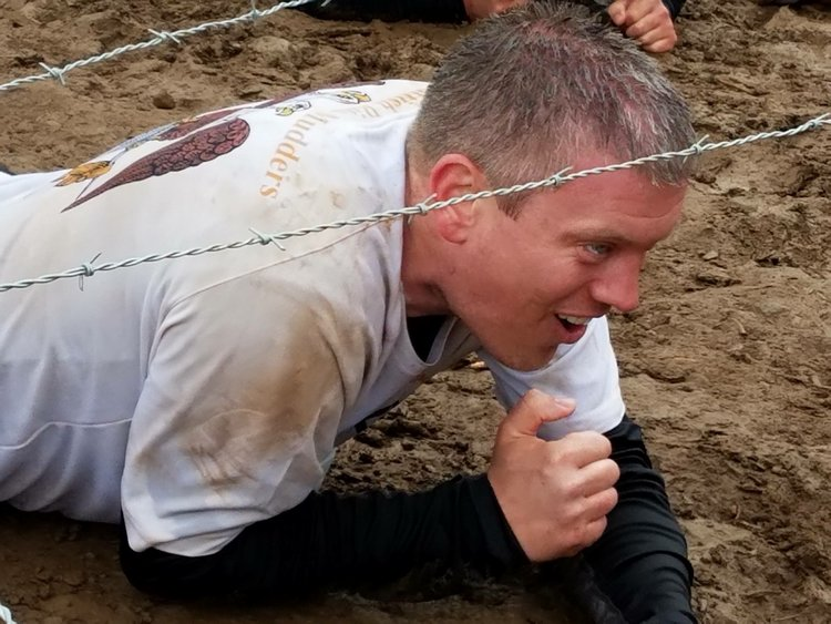 Ryan on the 2016 Scottish Rite Tough Mudder team in Lake Tahoe.