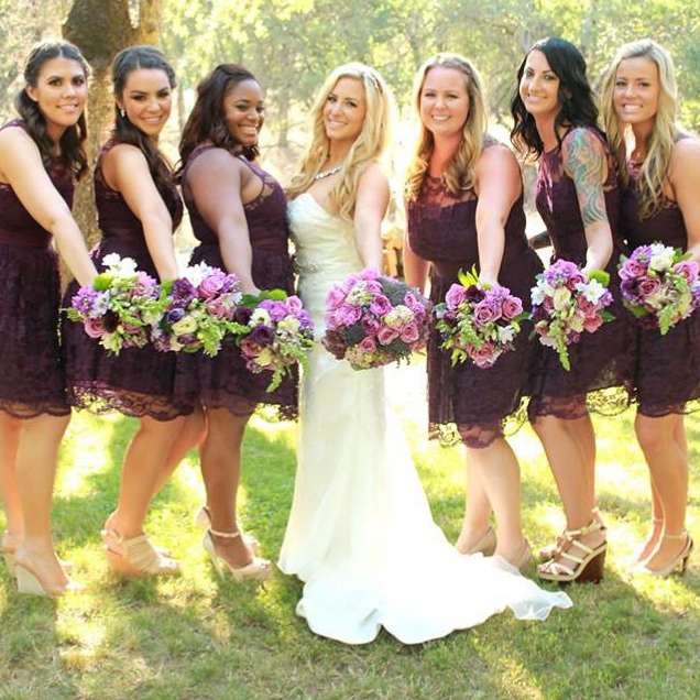 Bride and Bridal Party Makeup by California Makeup Artist Glory Munoz