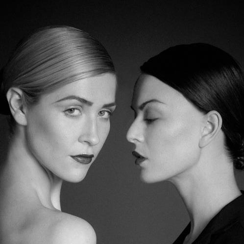 Black and White makeup look - Glory Munoz