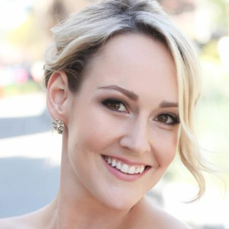 Natural Bridal Makeup for Blonde hair by Ventura Wedding Makeup Artist Glory Munoz