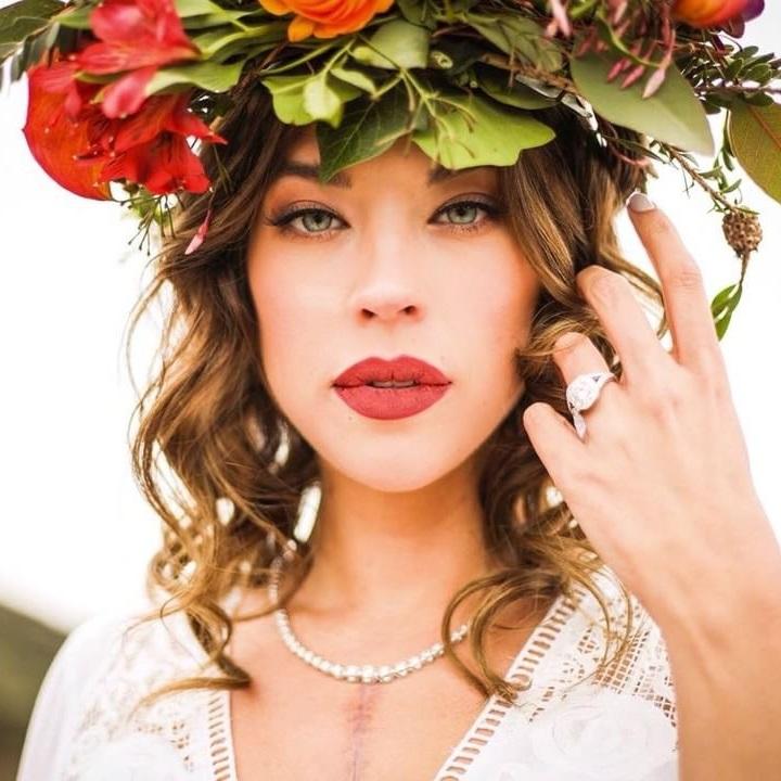 Wedding makeup for blue eyes by Ventura Makeup Artist Glory Munoz