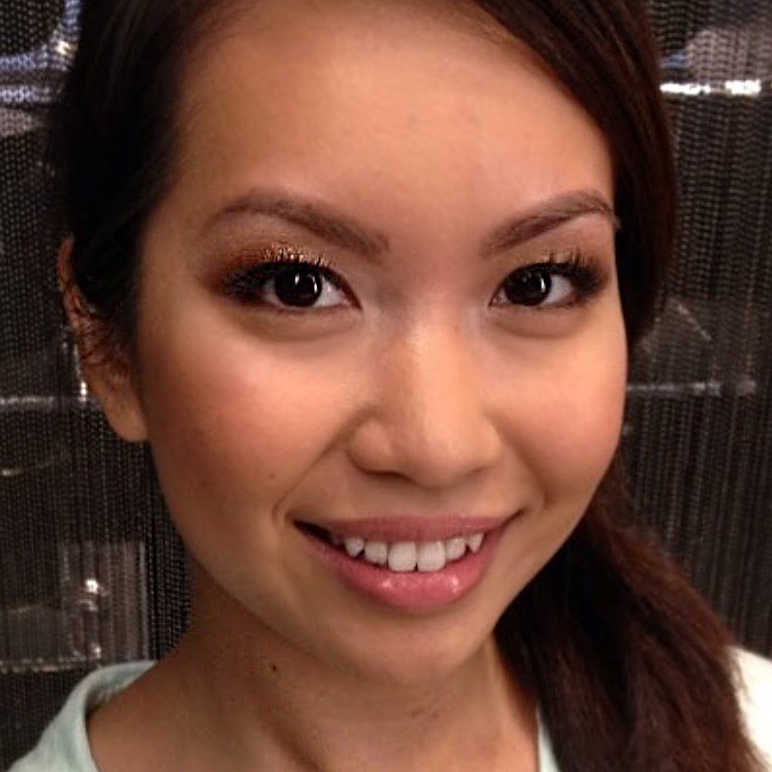 Natural Bridal Makeup for Asian Bride,  by Ventura Wedding Makeup Artist Glory Munoz