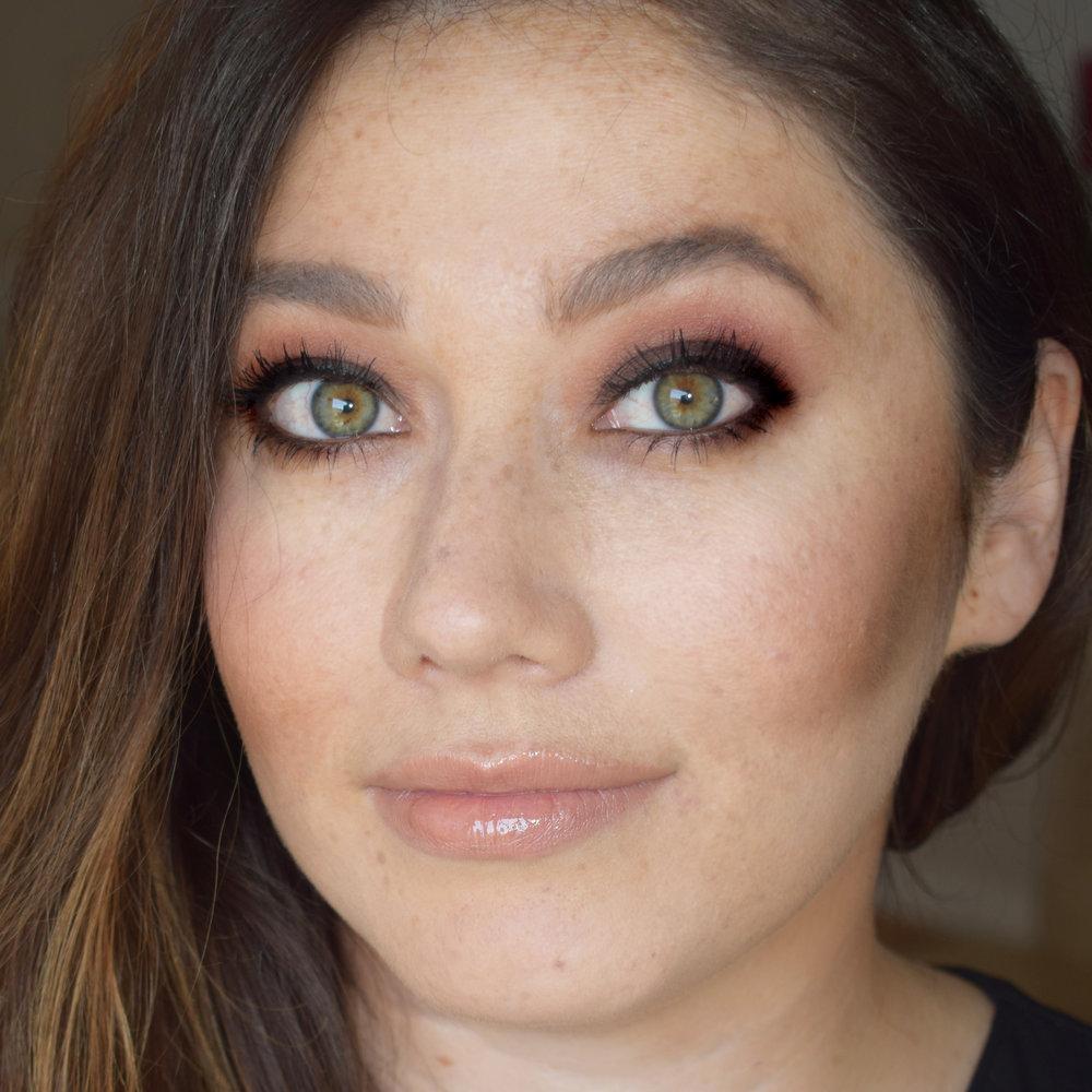 Natural Bridal Makeup for Green Eyes by Ventura Wedding Makeup Artist Glory Munoz