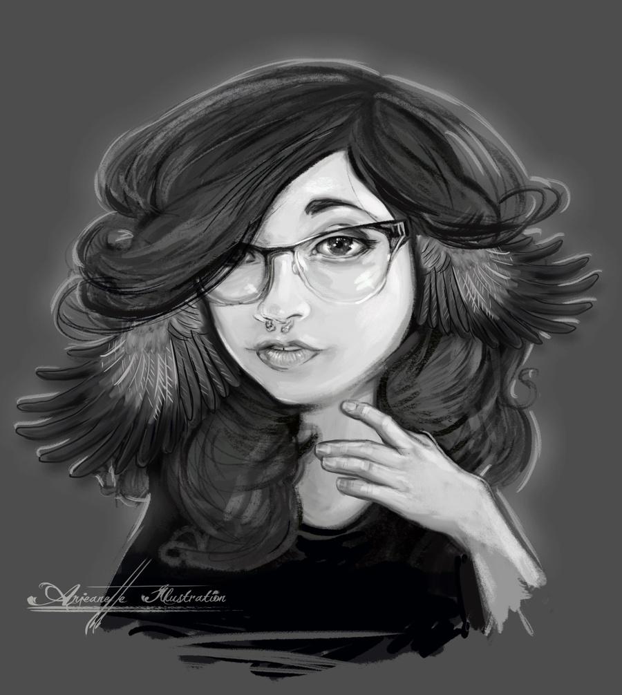 Mokingbirdwing Johanna by Nashville Area Artist Anjeanette Illustration