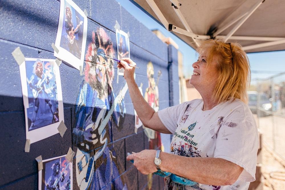 Phoenix artist mural arizona