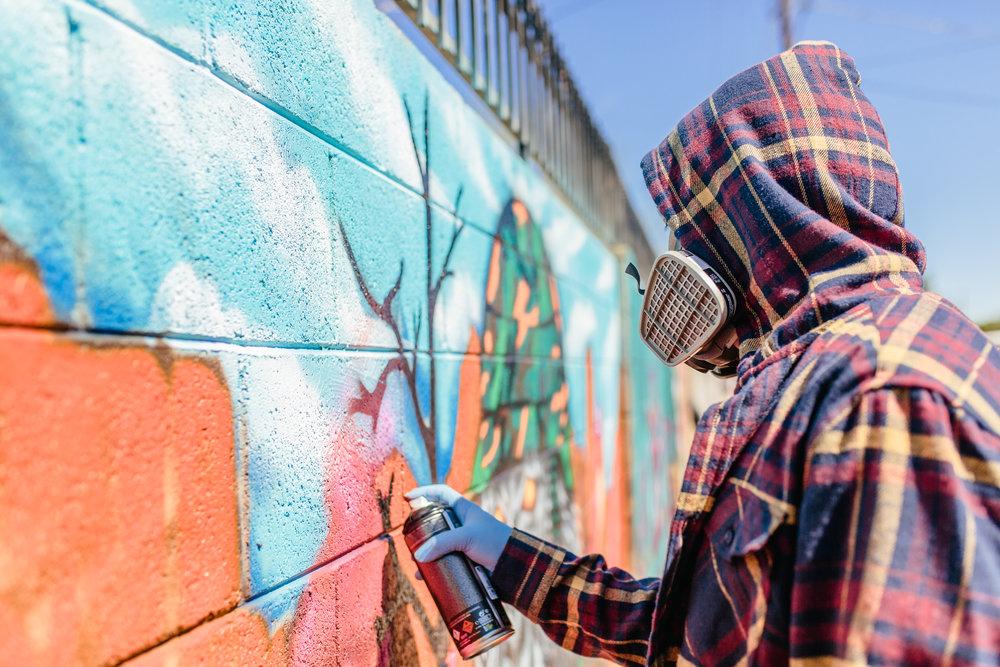 Phoenix artist mural arizona  gori bautista