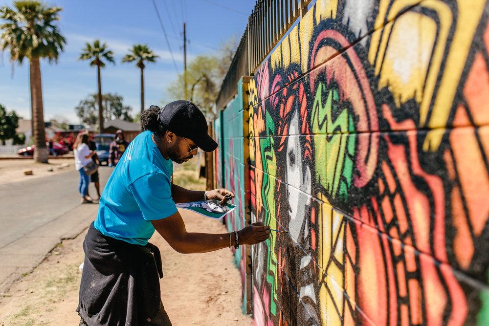 phoenix mural artist alloyius mcilwaine