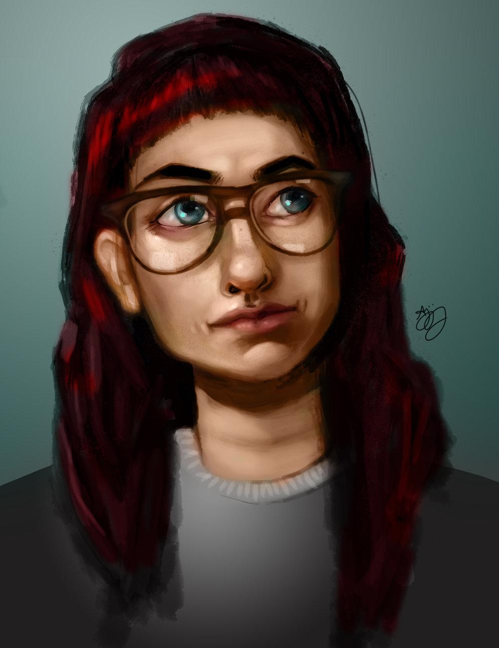 digital painting artist anjeanette illustration
