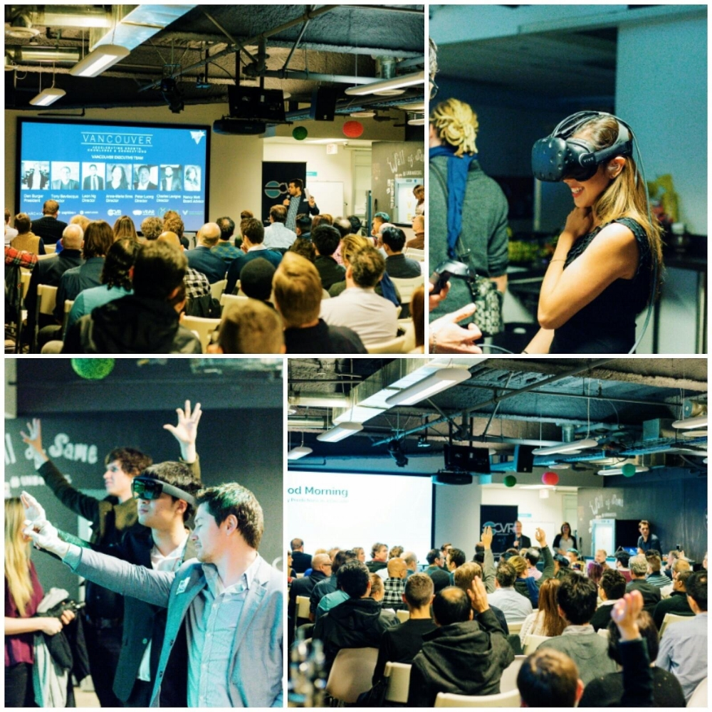 VR/AR Assocation Vancouver launch event: VR/AR/MR The Future of Computing at Unbounce