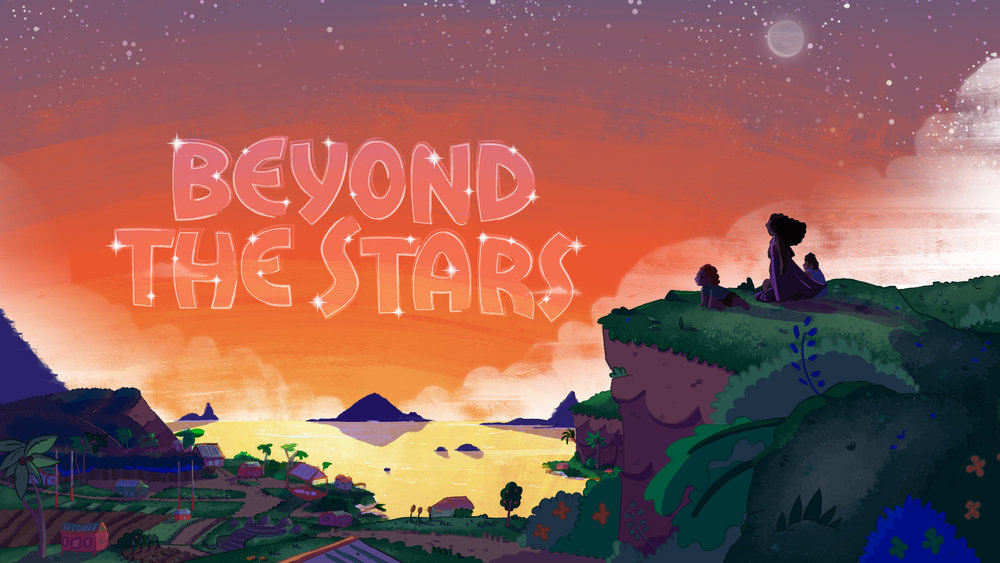 Beyond the Stars is an educational game that uses storytelling and interactive technologies