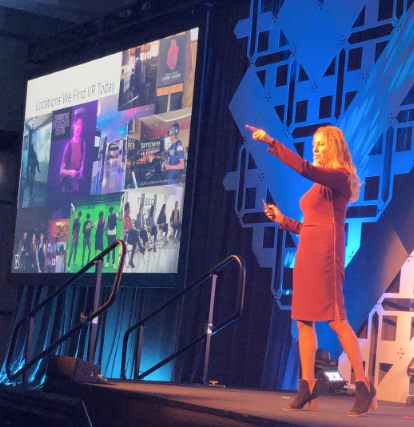 HP Entertainment's Joanna Popper details HP's work in the immersive space