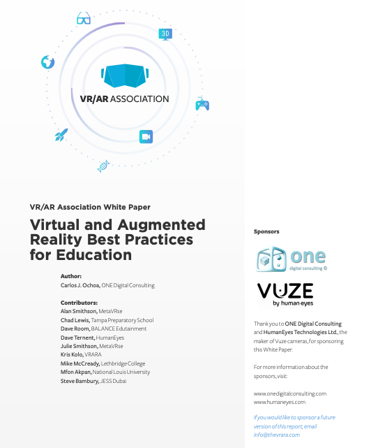 Education Best Practices for VR & AR