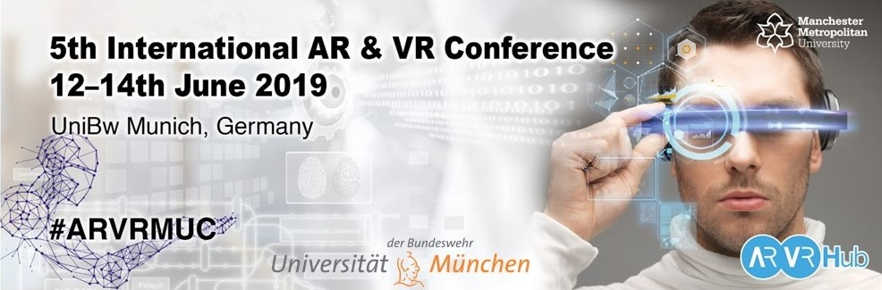 5th International AR & VR Conference - Munich , Germany — VR/AR