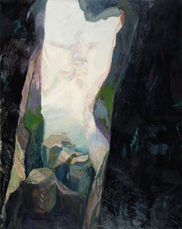 Cave , 2016, oil on canvas, 60 x 48 inches  (inquire)