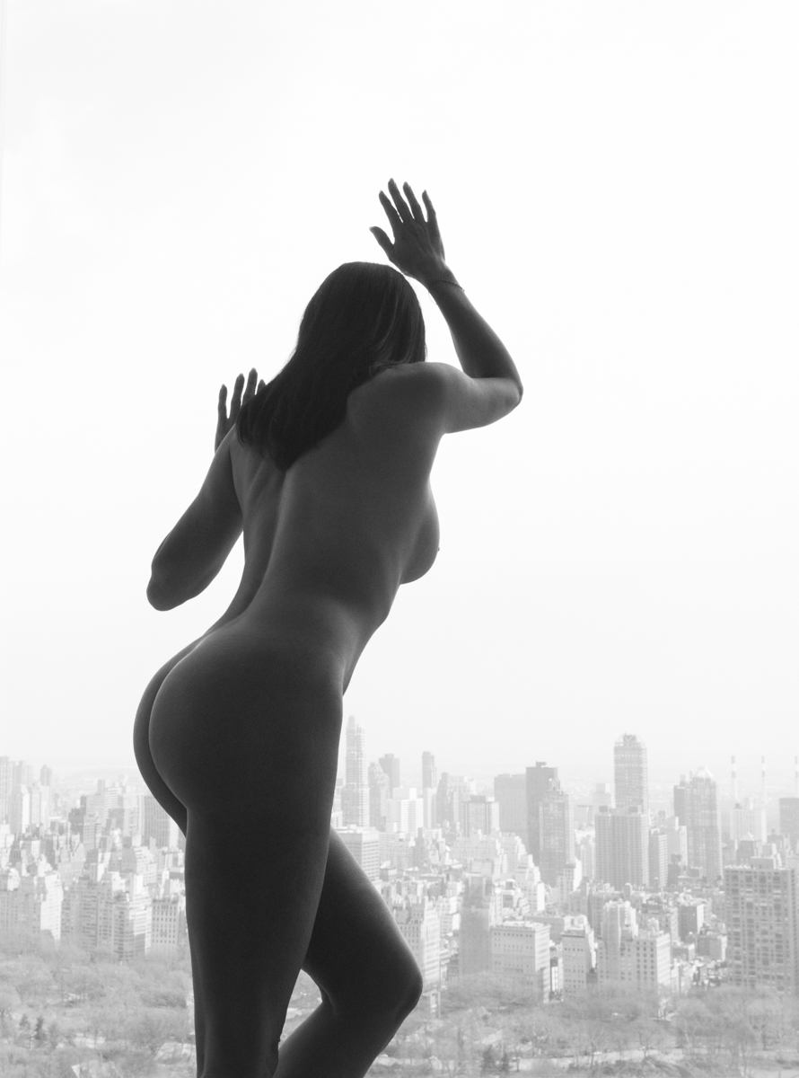 Nude York Two , 2015, digital C-print (framed), 37 x 25 inches  (inquire)