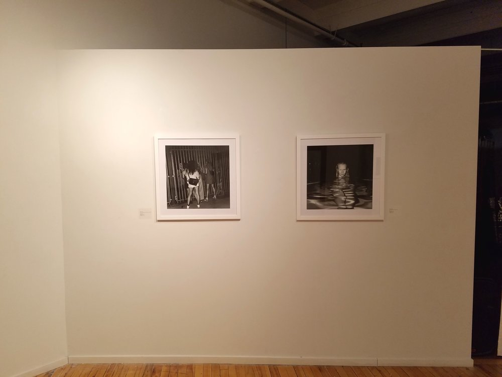 Installation view,  Mike Morris: Pool Hoppers