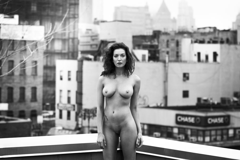 Nude York Seven , 2015, digital C-print (framed), 35 x 49 inches (inquire)