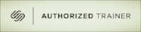 Squarespace Authorized Trainer Logo