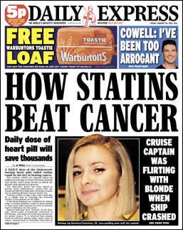 "The real headline here is ""More Crap Medical News!"""