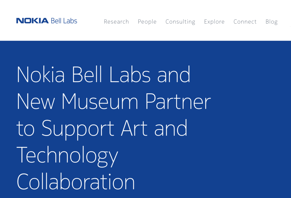 https://www.bell-labs.com/newsroom/press/nokia-bell-labs-and-new-museum-partnership-support-art-and-technology-collaboration/
