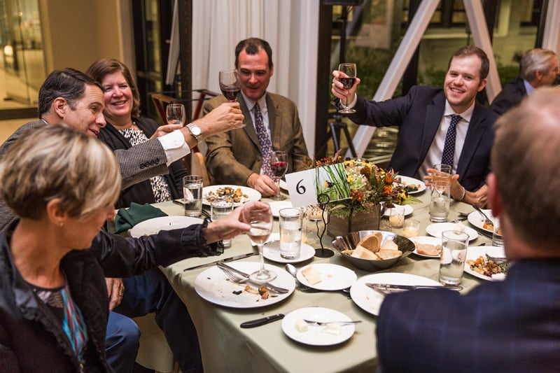 A toast to the next 20 years of the Wetlands Initiative!