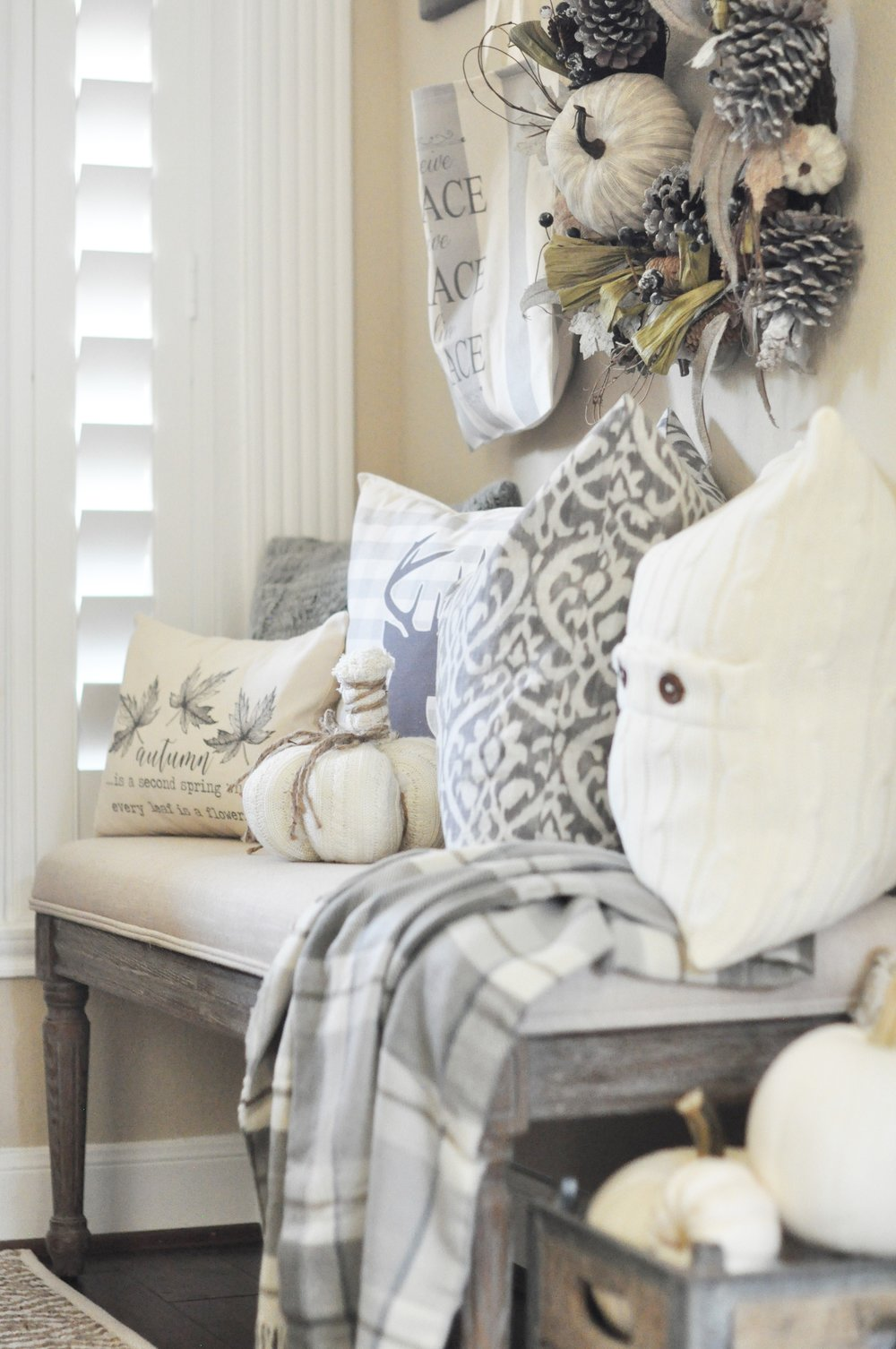 Autumn\'s in the Air Fall Home Tour — The Grace House