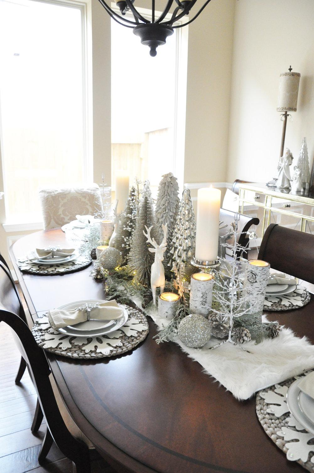 Winter Wonderland Tablescape The Grace House
