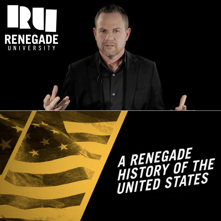A Renegade History of the United States (Video Lecture Series - 6.5 hours) - with Thaddeus Russell$95Course Description