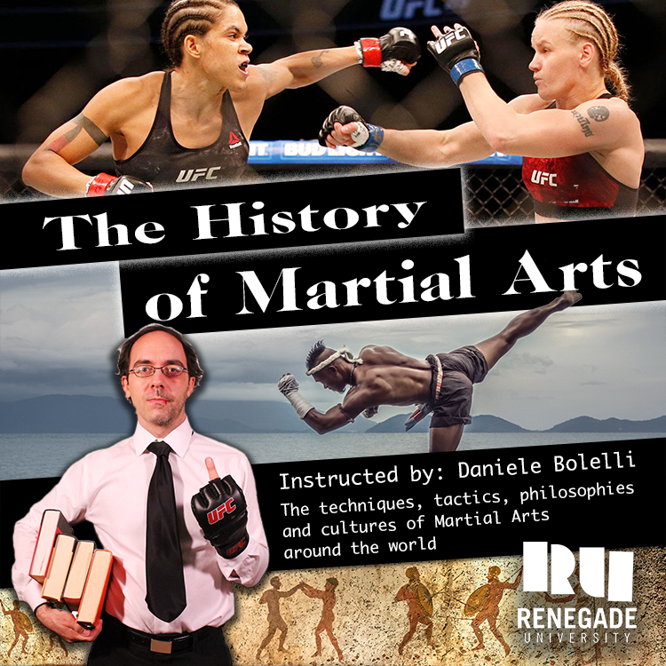 The History of Martial Arts (Video Lecture PLUS Live Interactive Webinar) - with Daniele BolelliOnline lecture PLUS live virtual seminarPre-Order Part 1: $49Course Description