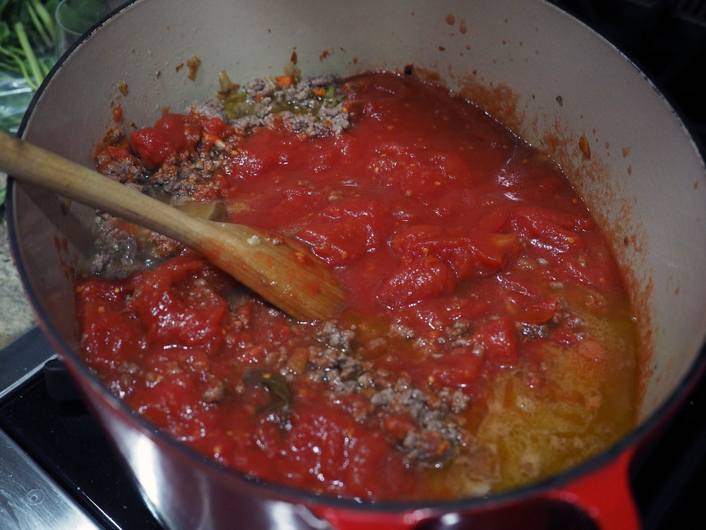 meat with tomatoes