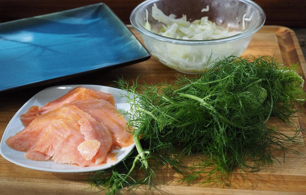salmon & fennel
