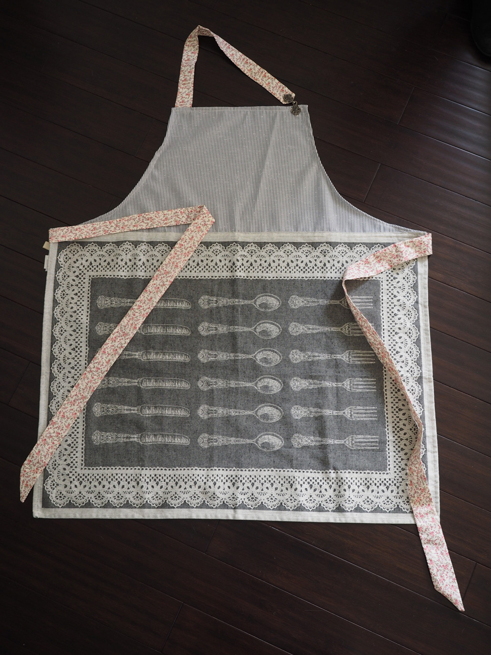 Muted Blues Apron