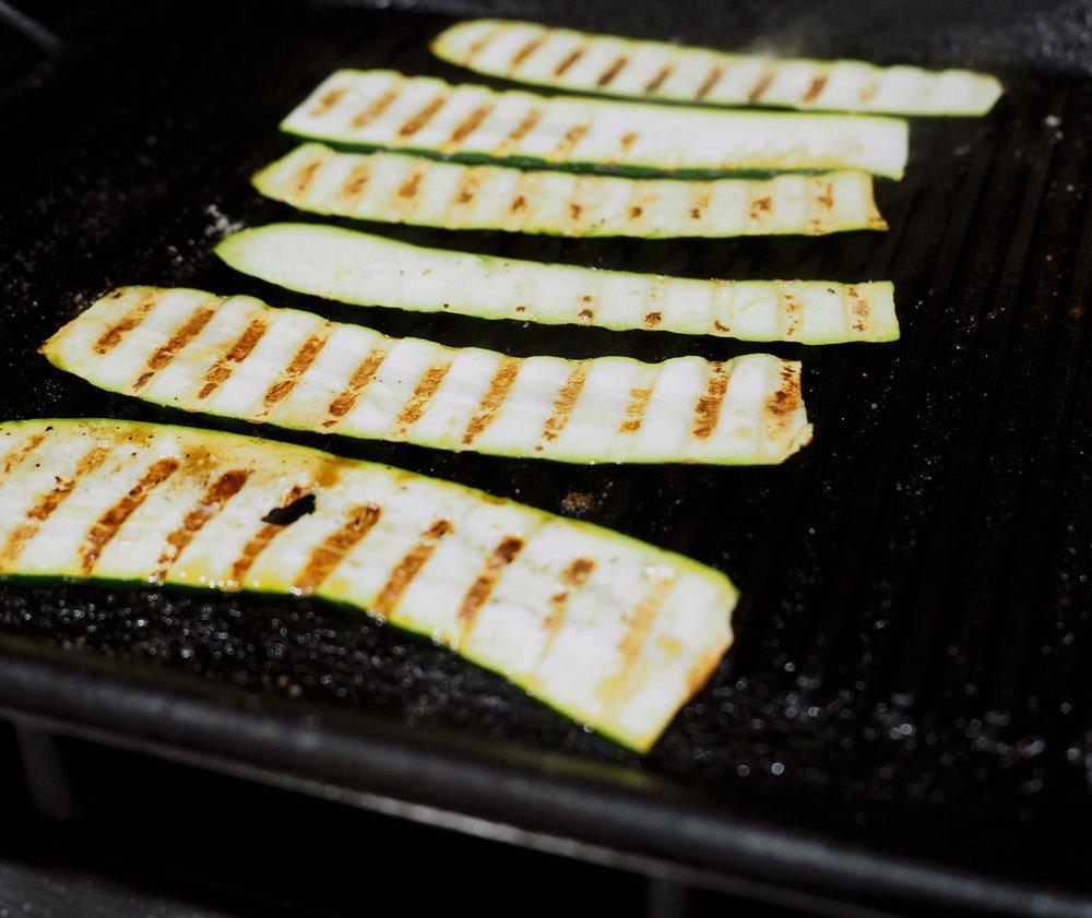zucchini cooking
