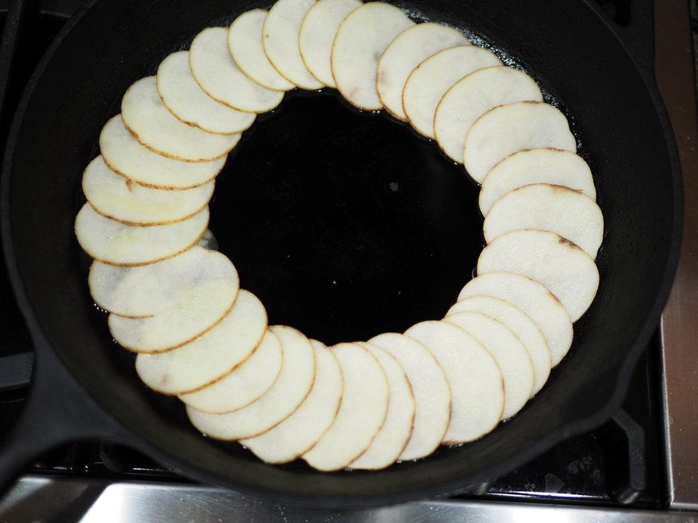 Potato circles