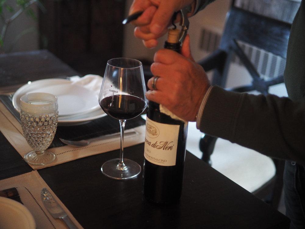Italian wine, Certo! Casanova de Neri 2012 Brunello di Montalcin o