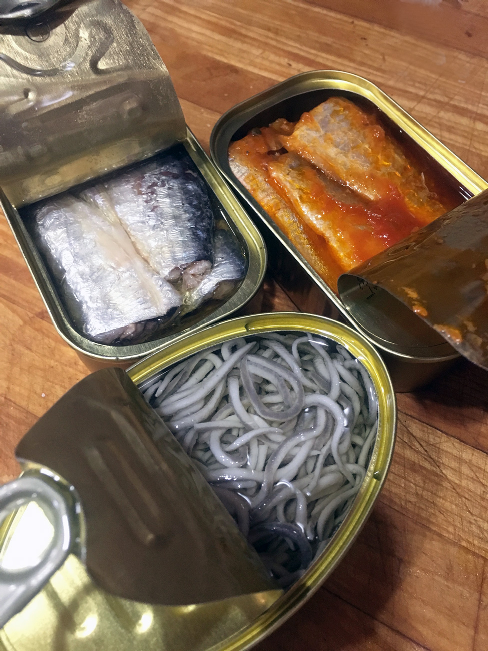These Spanish fishes are canned at peak freshness and are absolutely delicious.  Despaña carries them both in their stores and website.