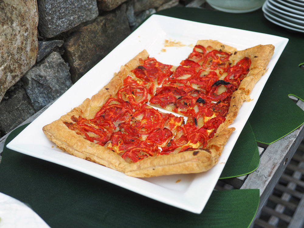Tomato & Mozzarella Tart