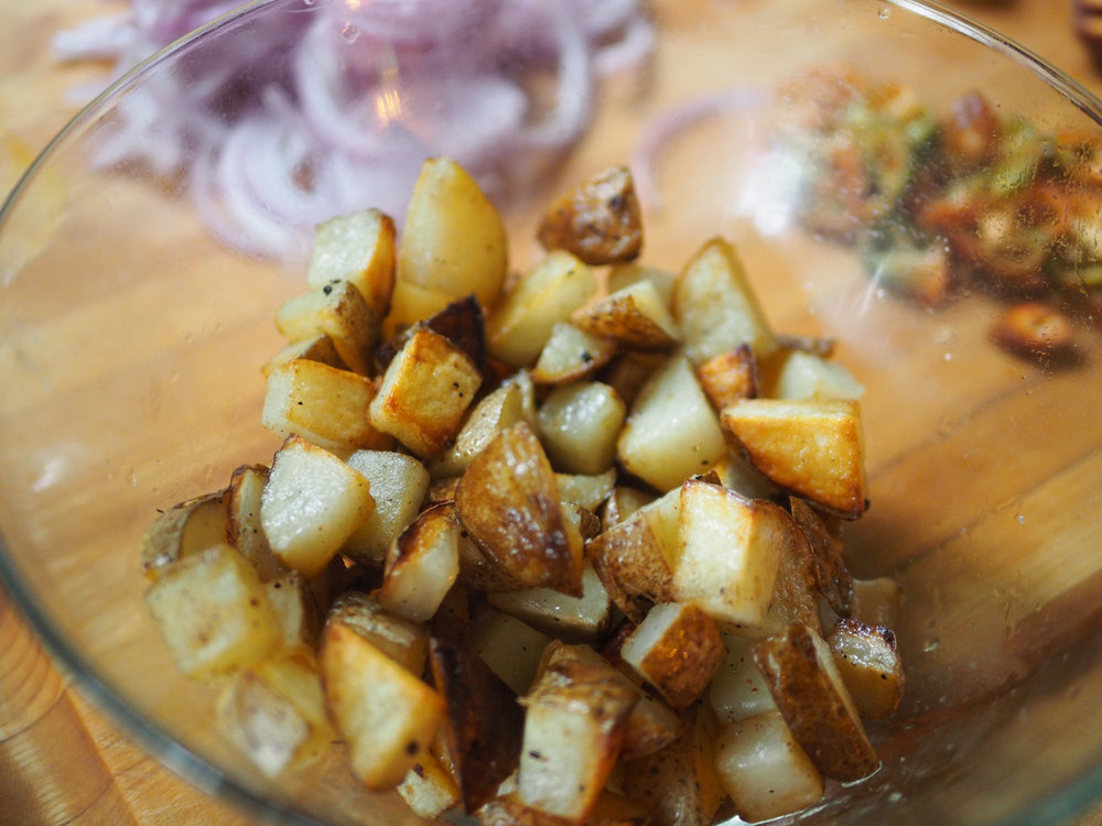 Is there anything more satisfying than crispy potatoes? I think not.